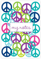 Evy Jacob Composition Notebooks (Lots Of Peace - Multi) (NB08)
