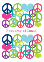 Evy Jacob Composition Notebooks (Peace & Love) (NB09)
