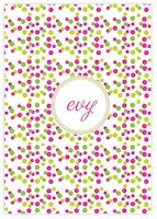 Evy Jacob Composition Notebooks (Confetti - Hot Pink) (NB20)