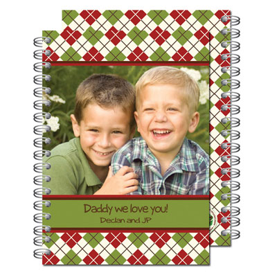 Milo Paper - Photo Notebooks (Argyle Fun)