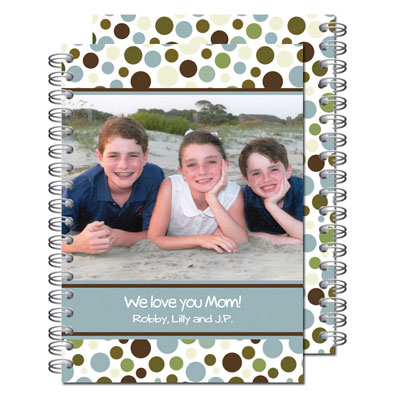 Milo Paper - Photo Notebooks (Fun Dots)