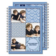 Milo Paper - Photo Notebooks (Blue Patch) (PN_107)