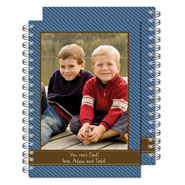 Milo Paper - Photo Notebooks (Blue Pinstripe) (PN_110)