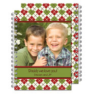 Milo Paper - Photo Notebooks (Argyle Fun) (PN_113)