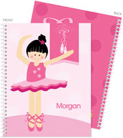 Spark & Spark Note Notebooks - Love For Ballet (Black Hair) (03-NBS-1400-53-03)