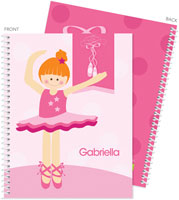 Spark & Spark Note Notebooks - Love For Ballet (Red Hair) (03-NBS-1400-53-06)