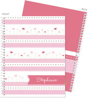 Spark & Spark Note Notebooks - Field Of Tulips (03-NBS-1400-56)