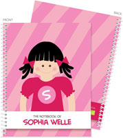 Spark & Spark Note Notebooks - Super Black Hair Girl (03-NBS-1400-60-03)
