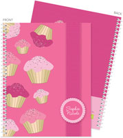 Spark & Spark Note Notebooks - Sweet Cupcakes (03-NBS-1400-61)