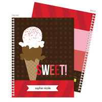 Spark & Spark Note Notebooks - Sweet & Yummy (03-NBS-1400-65)