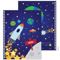 Spark & Spark Note Notebooks - Rocket Launch (03-NBS-1401-50)