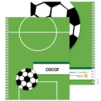 Spark & Spark Note Notebooks - Soccer Fan (03-NBS-1401-54)