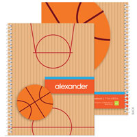 Spark & Spark Note Notebooks - Basketball Fan (03-NBS-1401-55)