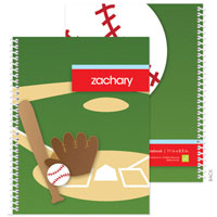 Spark & Spark Note Notebooks - Baseball Fan (03-NBS-1401-57)
