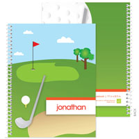 Spark & Spark Note Notebooks - My Love For Golf (03-NBS-1401-58)