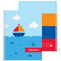 Spark & Spark Note Notebooks - Sailing The Blue Ocean (03-NBS-1401-60)