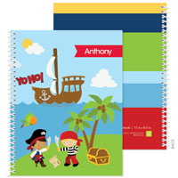 Spark & Spark Note Notebooks - Yo Ho Pirate (03-NBS-1401-61)