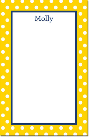 Boatman Geller - Create-Your-Own Note Pads (Polka Dot)