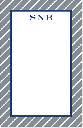 Boatman Geller - Create-Your-Own Note Pads (Kent Stripe)