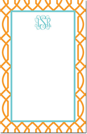 Boatman Geller - Create-Your-Own Note Pads (Trellis Reverse)