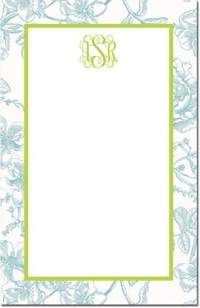 Boatman Geller - Create-Your-Own Note Pads (Floral Toile)