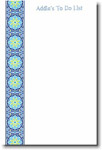 Boatman Geller Note Pads - Blue Floral Band