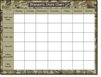 Donovan Designs Calendar Note Pads - Camo  (#PWSP4)