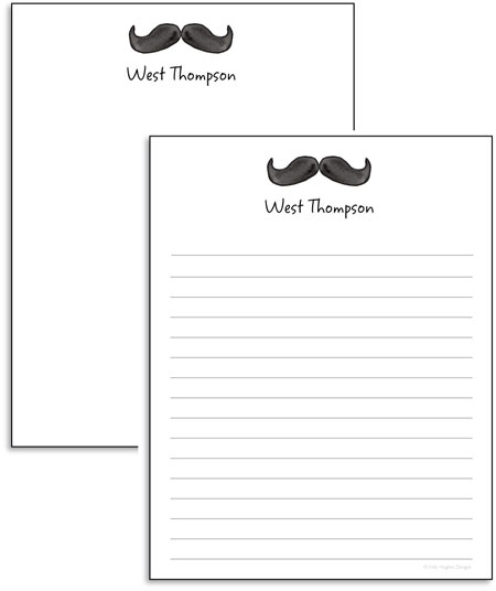 Kelly Hughes Designs - Note Pads (Dapper) (np408)