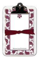 Noteworthy Collections College Clipboard & Notesheets - Paisley (Texas A&M University) (CCP-TAM5)