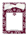 Noteworthy Collections College Tear Pads - Circle Burst (Texas A&M University) (CTP-TAM2)