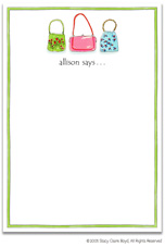 Stacy Claire Boyd Stationery - Sassy 'n' Chic (Padded Stationery)