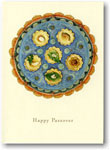 Indelible Ink Passover Card - The Mosaic Seder Plate