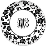 Boatman Geller - Personalized Plates (Blossom Black) (18963)