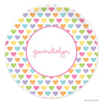 Boatman Geller - Personalized Plates (Candy Hearts) (21900)