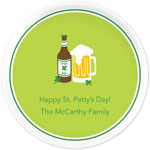 Boatman Geller - Personalized Melamine Plates (Irish Ale - St. Patrick&#39;s Day) (21910)