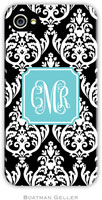 Boatman Geller - Create-Your-Own Personalized Hard Phone Cases (Madison Damask)