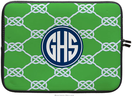 Boatman Geller Laptop Sleeves - Nautical Knot Kelly (Preset) (TECH19+Case12-preset)