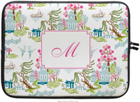Boatman Geller Laptop Sleeves - Chinoiserie Spring