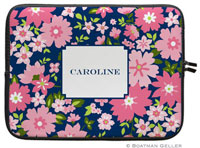 Boatman Geller Laptop Sleeves - Caroline Floral Pink