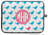 Boatman Geller Laptop Sleeves - Birdies Repeat (Preset)