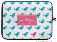 Boatman Geller Laptop Sleeves - Birdies Repeat