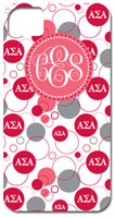 Hard Phone Cases - Alpha Sigma Alpha - Bubbles (GOTGK-ASA-02)