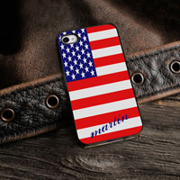 Personalized iPhone Case (Show Colors with Black Trim) (GC974)
