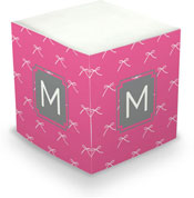 Dabney Lee Personalized Sticky Note Cubes - Chloe