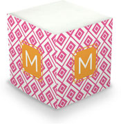 Dabney Lee Personalized Sticky Note Cubes - Lucy