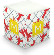 Dabney Lee Personalized Sticky Note Cubes - Rock Lobster