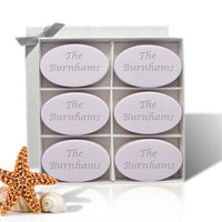 Personalized Soap - Six Bars - Lavender Inspire