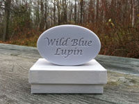 Personalized Soap - Single Bar - Wild Blue Lupin