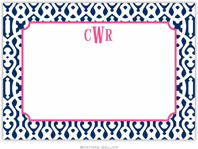 Boatman Geller - Custom Personalized Stationery (Cameron - Large Flat) (434+P03+A02)