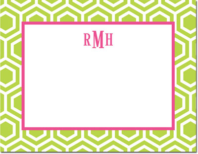 Boatman Geller - Create-Your-Own Personalized Stationery (Hexagon - Sm. Flat Card)